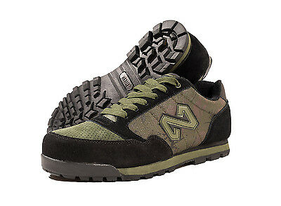 Navitas NEW Outdoor XT1 Green Black Camo Trainers Fishing Footwear *All Sizes*