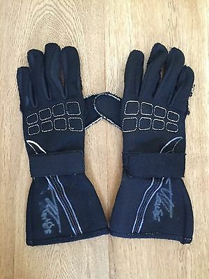 2007 used & signed pair of McLaren Mercedes  gloves from Fernando Alonso