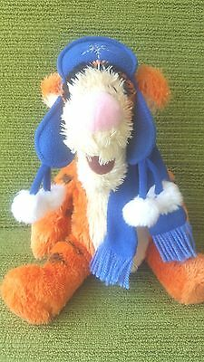 """Disney Exclusive-Winnie The Pooh - Tigger -13"""" Plush Soft Toy - Lovely Condition"""