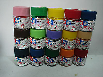 Tamiya Acrylic Paint - Set C - 15 Colori