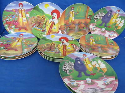 Lot Of 20 Collectible McDonald's Plates - 1989 - 5 of each style • $29.29