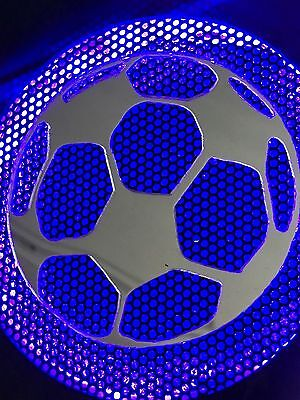 WORLD CUP SOCCER Pinball Machine mirrored SOCCER BALL speaker inserts (set)