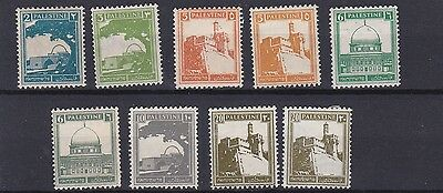 Palestine 1927 - 45    S G  90 - 99A     Various Values To 20M    Mh