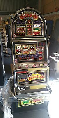 FRUIT MACHINE RANDOM GOLD DOUBLE UP £5 JACKPOT DELIVERY POSSIBLE - New £1 ready
