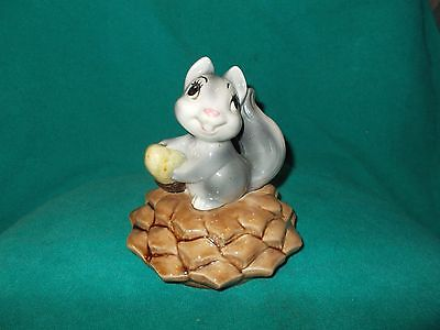 Vintage Metlox Squirrel on Pine Cone Pinecone Cookie Jar - LID ONLY -