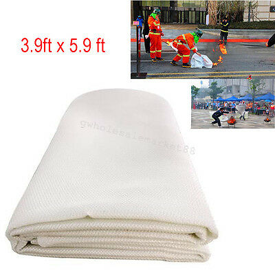 3.9x 5.9 ft Fiberglass Welding Blanket Work Anti Work Areas Sparks & Splatter