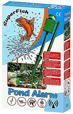 Superfish Outdoor Pond Alarm Heron/Bird Scarer