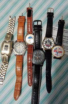 Lot Of  6 Watches  Assorted