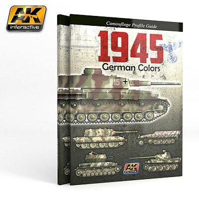 AK INTERACTIVE 403 # 1945 German Colors. Camouflage Profile Guide. ENGLISH ED.