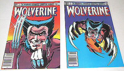 MARVEL COMICS WOLVERINE LIMITED SERIES COLLECTIBLE COMIC BOOKS #02065 Set of 2 • $21.50