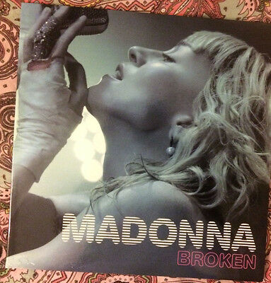 Madonna Broken 12' Inch Rare Special Limited Edition Bootleg Red Edition