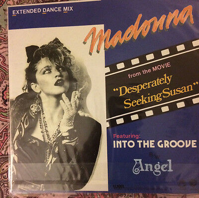 Madonna Into The Groove/angel 12' Inch Rare 400 Copies Limited Edition White