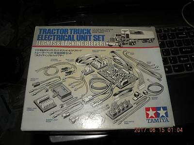 Tamiya R/c 1/14 Tractor Truck Electrical Unit Set Lights & Backing Beeper #56501