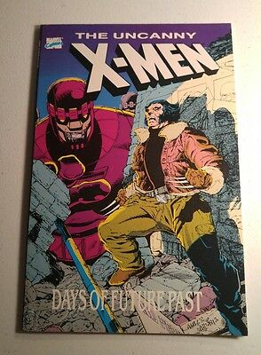 The Uncanny X-Men Days Of Future Past TPB marvel Comics