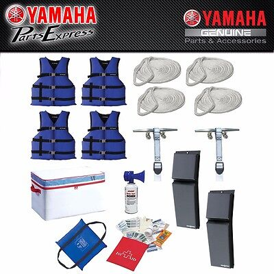 New Yamaha Boating Starter Kit Boat Safety In One Total Package Sbt-Boatk-It-09