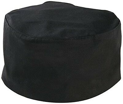 Mercer Culinary M60075BK1X Baker's Skull Cap with No Mesh, X-Large, Black NWT