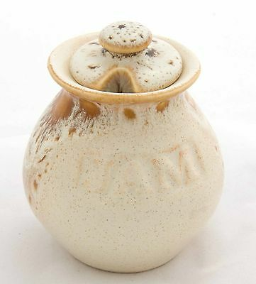 fosters pottery honeycomb jam pot