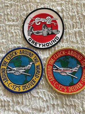 VRC-30 C-2 And C-12's 3 Patch Lot • $19.99