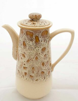 Fosters Pottery Honeycomb Coffee pot