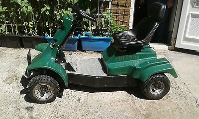 electric single seat golf cart and trailer