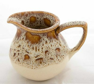 fosters pottery honeycomb small jug