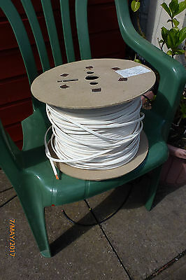200 metre reel of wire (it says optical fibre cable)