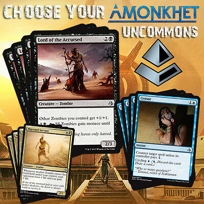 Choose Your Amonkhet Uncommon Cards - AKH MTG M/NM