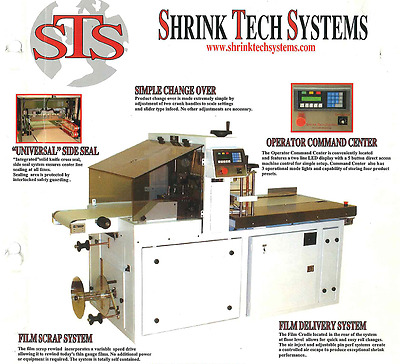 Shrink Tech System Plus 8 Collating Straight Shooters
