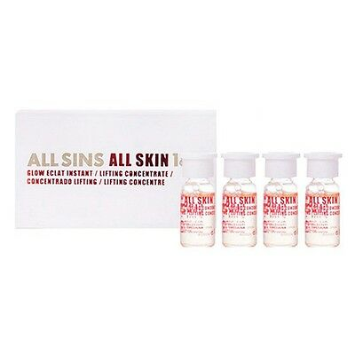 All Sins 18k - ALL SKIN glow eclat instant lifting Concentrate 4x2 ml
