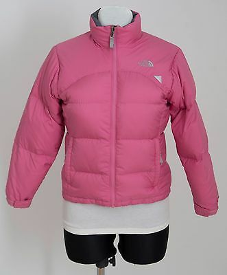 Girls The North Face 600 Jacket Padded Winter Jacket Pink Size M 10-12 Years Vgc