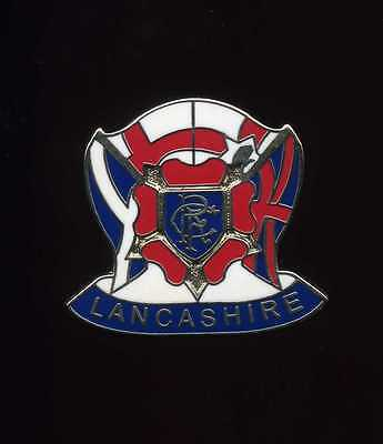 Glasgow Rangers Gers Lancashire Supporters Club Pin Badge
