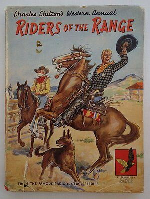 Eagle comic Riders of the Range Book 1950s FN in FR DJ (phil-comics)