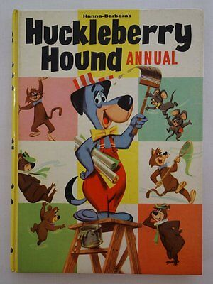 Huckleberry Hound Comic Annual 1962 FN+ (phil-comics)