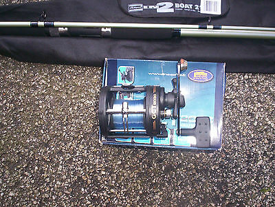 Boat rod and reel x 4