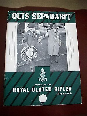 Royal Ulster Rifles Magazine - Spring 1966