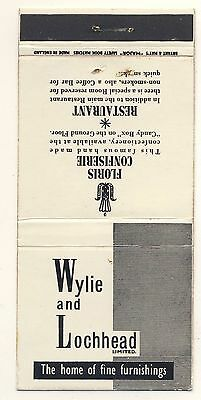Matchbook - Wylie and Lochhead Ltd. - Used #392