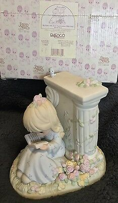 PRECIOUS MOMENTS Figurine BY GRACE WE HAVE COMMUNION WITH GOD 325333C Mint N Box