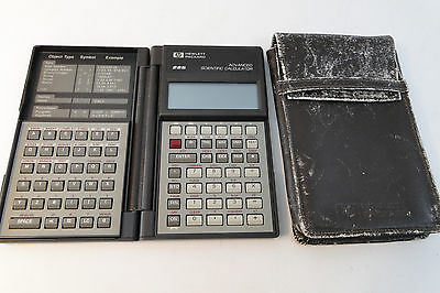 Hewlett-Packard HP-28S Advanced Scientific Calculator HP 1986 VINTAGE