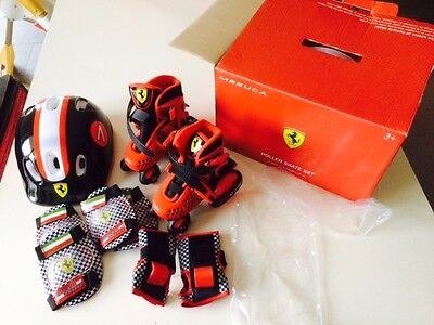 COMBO My First Skate Roller LED Ferrari taille 26 27 28 29 Enfant Kid ABEC 7