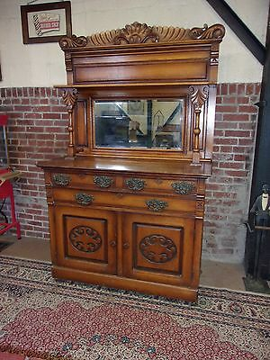 ANTIQUE VICTORIAN BUFFET ORGINAL FINISH-SELLING OUT Make Offer