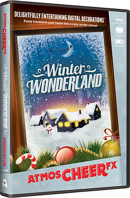 AtmosCHEERfx Winter Wonderland Digital Decorations