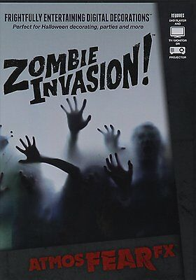 AtmosFEARfx Zombie Invasion! Halloween Digital Decorations DVD
