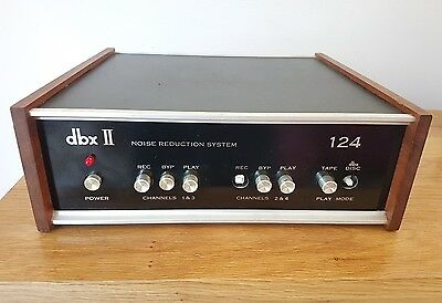 dbx Model 124 Noise Reduction Unit vintage