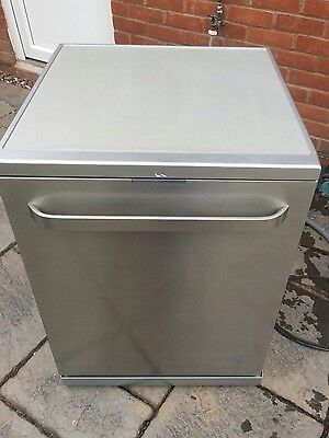 KENWOOD KDW60X16 Full-size Dishwasher - Stainless Steel A++