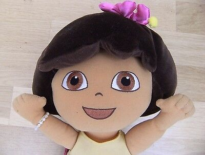 "CBeebies Dora The Explorer Hawaiian 16"" DORA Doll Soft Plush Toy"