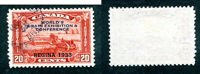 Used Canada 20 Cent Grain Exhibition Stamp #203 (Lot #13142)