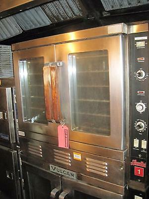 Vulcan Snorkel Double Stack Oven Gas Convection Full Size Dual Commercial  A