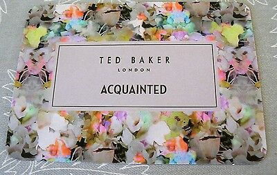 Ted Baker Promo/Advertising Card