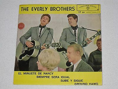 """The Everly Brothers Nancy´s Minuet Rare Spanish Original Issue Ep 7"""""""