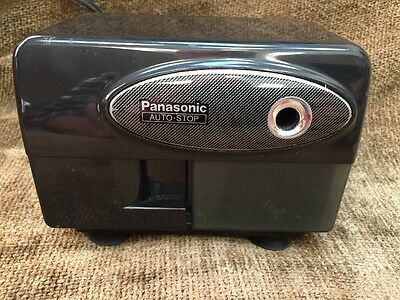 Panasonic KP-310 Auto-Stop Electric Pencil Sharpener Operates Good